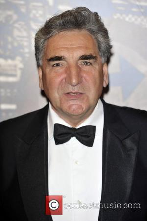 Jim Carter,  at the Specsavers Crime thriller Awards 2012 held at the Grovsenor Hotel, Park Lane. London, England -18.10.12