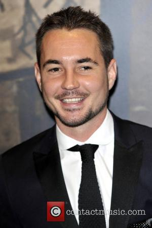 Martin Compston,  at the Specsavers Crime thriller Awards 2012 held at the Grovsenor Hotel, Park Lane. London, England -18.10.12