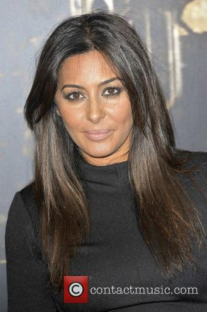 Laila Rouass,  at the Specsavers Crime thriller Awards 2012 held at the Grovsenor Hotel, Park Lane. London, England -18.10.12