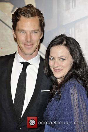Lara Pulver and Benedict Cumberbatch