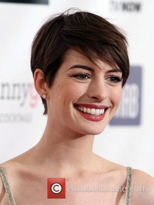 Anne Hathaway 18th Annual Critics' Choice Movie Awards held at Barker Hangar  Featuring: Anne Hathaway Where: Santa Monica, California,...
