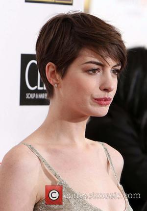 Anne Hathaway 18th Annual Critics' Choice Movie Awards held at Barker Hangar  Featuring: Anne Hathaway Where: Santa Monica, California,...