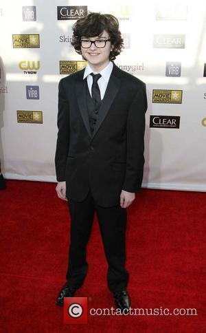 Jared Gilman 18th Annual Critics' Choice Movie Awards held at Barker Hangar - Arrivals  Featuring: Jared Gilman Where: Santa...