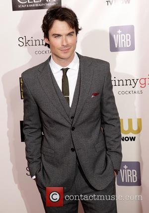 Ian Somerhalder, Elton John Oscar Party