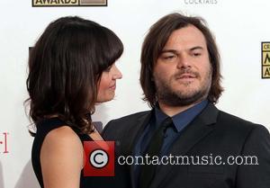 Tanya Haden; Jack Black 18th Annual Critics' Choice Movie Awards held at Barker Hangar - Arrivals  Featuring: Tanya Haden,...
