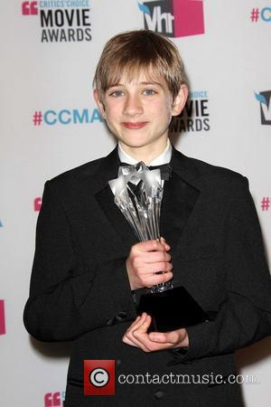 Thomas Horn 17th Annual Critic's Choice Movie Awards - Pressroom Los Angeles, California - 12.01.12