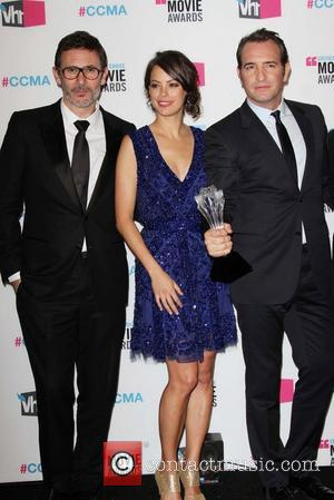 Michel Hazanavicius, Berenice Bejo, Jean Dujardin 17th Annual Critic's Choice Movie Awards - Pressroom  Los Angeles, California - 12.01.12