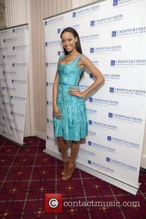 Selita Ebanks Crohn's & Colitis Foundation of America Nineteenth Annual Women of Distinction Luncheon at the Waldorf Astoria  New...