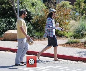 Cisco Adler and Ari Lehman visit the Cross Creek Center in Malibu to get coffee Los Angeles, California - 14.07.12
