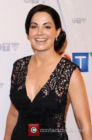 Erica Durance  CTV Upfront 2012 Presentation at The Sony Centre for the Performing Arts - Arrivals Toronto, Canada -...