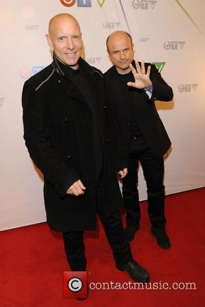 Hugh Dillon and Enrico Colantoni  CTV Upfront 2012 Presentation at The Sony Centre for the Performing Arts - Arrivals...