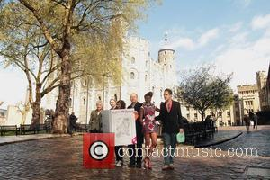 Gilles Peterson, Julie Walters and Meera Syal with Shingai Shoniwa and Dan Smith of the Noisettes at the Tower of...