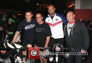 David Linn, Len Goodman, Mark Herzlich, Scott Rosen  Ride for Rare Cancers in Cycle For Survival this Weekend at...