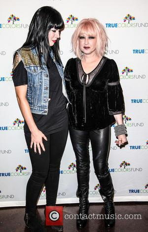 Cyndi Lauper and Friends: Home For The Holiday's Concert at The Beacon Theatre - Arrivals  Featuring: Alexis Krauss, Cindy...