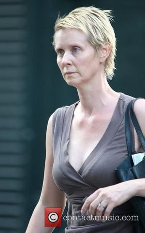 Cynthia Nixon's Baldness Worries Over Wedding