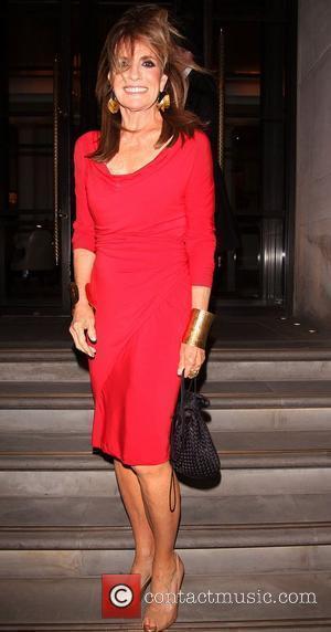 Linda Gray,  Dallas stars return to their hotel London, England - 21.08.12