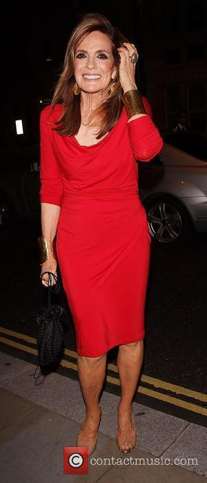 Linda Gray,  Dallas stars return to their hotel London, England - 21.08.12