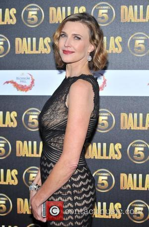 Brenda Strong Dallas Launch Party held at the Old Billingsgate - Arrivals. London, England - 21.08.12