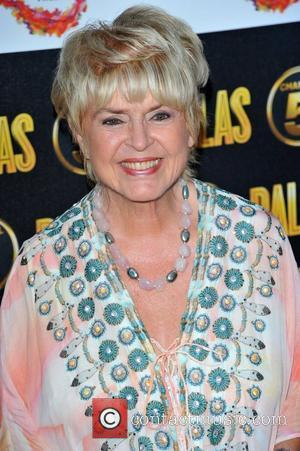 Gloria Hunniford Dallas Launch Party held at the Old Billingsgate - Arrivals London, England - 21.08.12