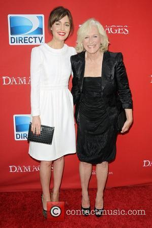 Glenn Close and Rose Burn ,  Damages Season Five Premiere - Red Carpet Arrivals at The Paris Theater New...