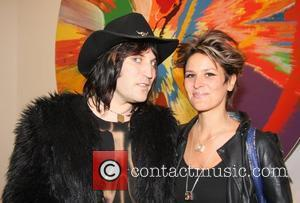 Noel Fielding and Lianna Bird Damien Hirst Exhibition Private View at Tate Modern  London, England - 03.04.12