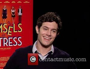 Adam Brody Celebrities promote the new movie 'Damsels In Distress' during an interview USA - 15.04.12