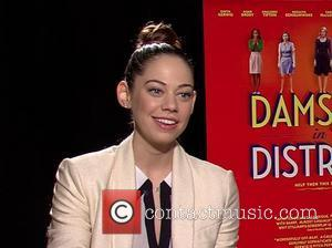 Analeigh Tipton Celebrities promote the new movie 'Damsels In Distress' during an interview USA - 15.04.12