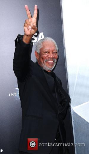 Morgan Freeman,  The Dark Knight Rises World Premiere - Outside Arrivals New York City, USA - 17.07.12