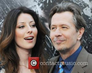 Alexandra Edenborough and Gary Oldman 'The Dark Knight Rises' New York Premiere at AMC Lincoln Square Theater - Arrivals New...