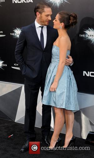 Tom Hardy and Charlotte Riley 'The Dark Knight Rises' New York Premiere at AMC Lincoln Square Theater - Arrivals New...