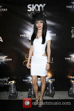 Ksenia Solo  'The Dark Knight Rises' Canadian premiere after party at One King West Hotel.  Toronto, Canada -...