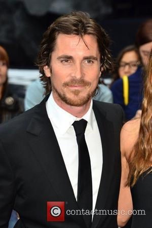 Christian Bale The European Premiere of 'The Dark Knight Rises' held at the Odeon West End - Arrivals. London, England...