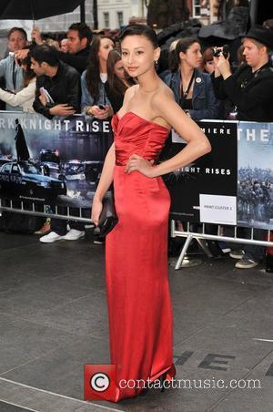 Leah Weller The European Premiere of 'The Dark Knight Rises' held at the Odeon West End - Arrivals. London, England...