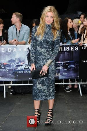 Annabelle Wallis The European Premiere of 'The Dark Knight Rises' held at the Odeon West End - Arrivals. London, England...