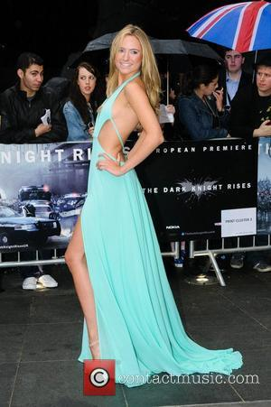 Kimberley Garner The European Premiere of 'The Dark Knight Rises' held at the Odeon West End - Arrivals. London, England...