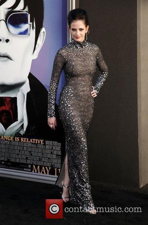 Eva Green and Grauman's Chinese Theatre
