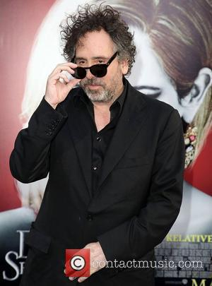 Tim Burton and Grauman's Chinese Theatre
