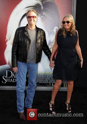 Peter Fonda and Parky Fonda Dark Shadows Premiere at Grauman's Chinese Theatre Hollywood, California - 05.07.12