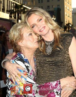 Cloris Leachman, Michelle Pfeiffer 'Dark Shadows' premiere at Grauman's Chinese Theatre - Arrivals  Los Angeles, California - 07.05.12