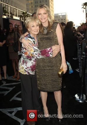 Cloris Leachman, Michelle Pfeiffer and Grauman's Chinese Theatre