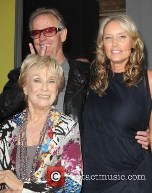 Peter Fonda, Cloris Leachman and Grauman's Chinese Theatre