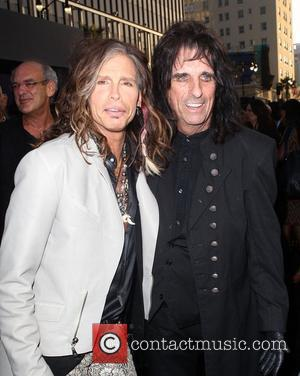 Steven Tyler, Alice Cooper and Grauman's Chinese Theatre