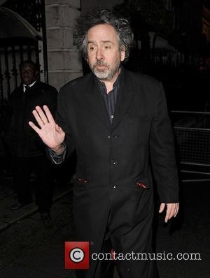 Tim Burton at the 'Dark Shadows' after party at Temple Place. London, England - 09.05.12