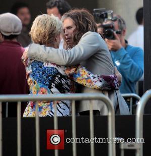 Cloris Leachman and Steven Tyler  'Dark Shadows' premiere at Grauman's Chinese Theatre - Outside Arrivals Los Angeles, California -...