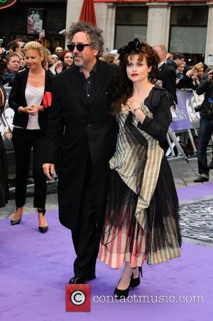 Tim Burton and Helena Bonham Carter UK premiere of 'Dark Shadows' at The Empire Cinema - Arrivals London, UK -...