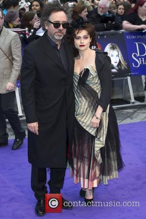 Tim Burton and Helena Bonham-Carter UK premiere of 'Dark Shadows' at The Empire Cinema - Arrivals  London, UK -...