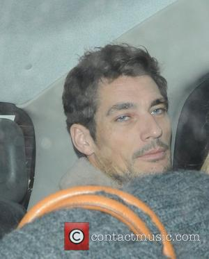 David Gandy leaving Raffles nightclub in London London, England - 01.03.12