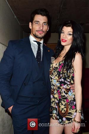 David Gandy and Marie Smith