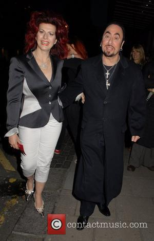 Cleo Rocos and David Gest  David Gest and Patsy Palmer joint birthday party at the Grand Connaught Rooms to...