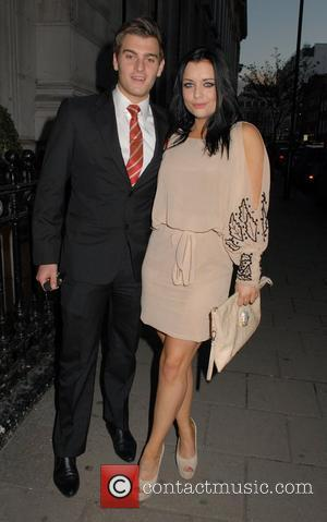 Matt Lapinskas and Shona McGarty  David Gest and Patsy Palmer joint birthday party at the Grand Connaught Rooms to...